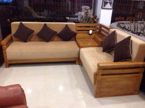 Teak Wooden Sofa Set Designs